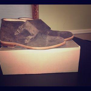 Mens H&M Suede Desert Boots